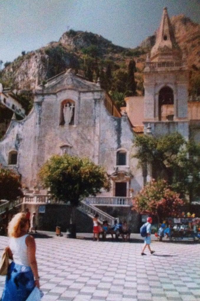 Sicilia-Taormina-Piazza