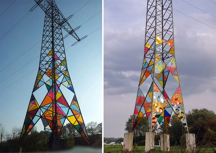 Turnul colorat foto 2 - boredpanda.com