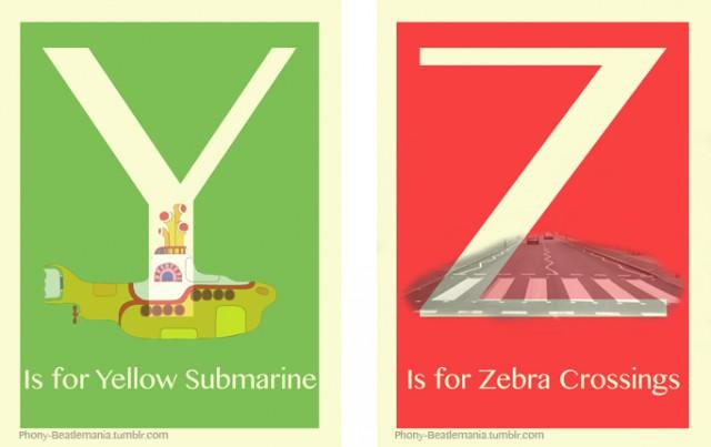 Alfabetul Beatles