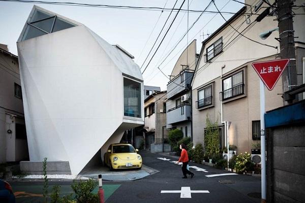 Arhitectura rar văzută din Tokyo