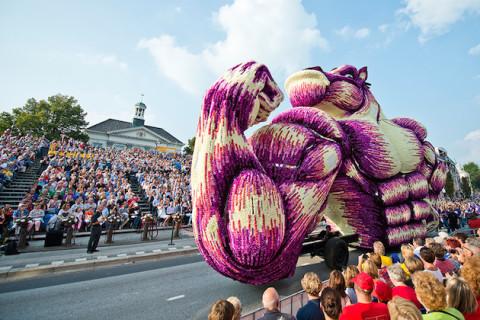 Cea mai mare paradă de flori din lume
