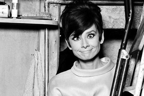 Fotografii rare cu Audrey Hepburn și charmul ei
