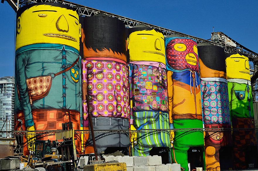 Giganții colorați din Vancouver