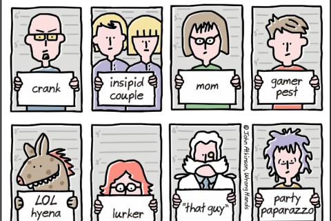 16 tipuri de oameni pe care-i găsești pe Facebook