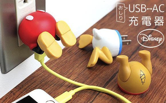 Adaptori USB și personaje Disney