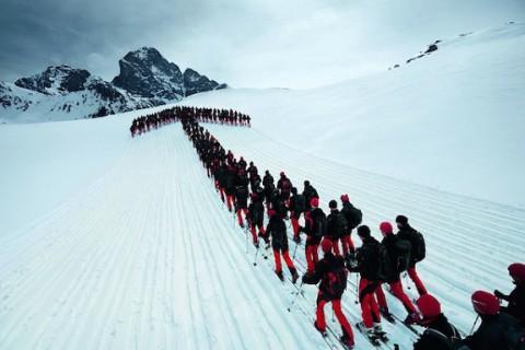 Alpiniștii și aventura lor pe Alpi
