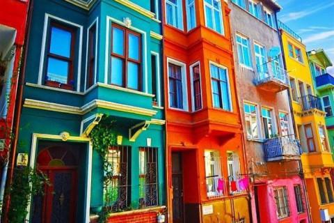 Cele mai colorate clădiri din lume