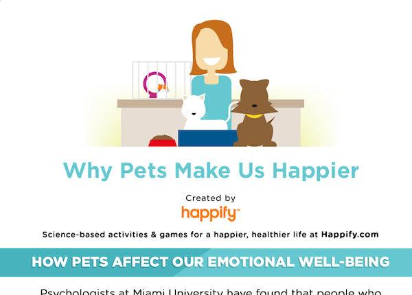 De ce ne fac animalele mai fericiti