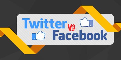 Facebook versus Twitter