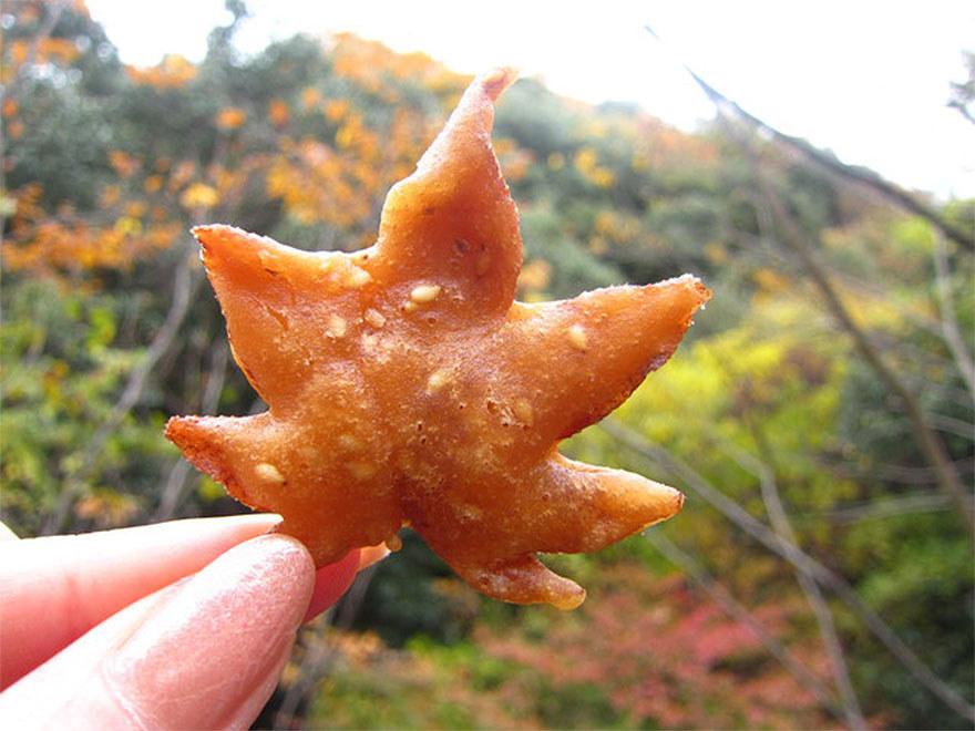 Gustări delicioase din frunze de arțar