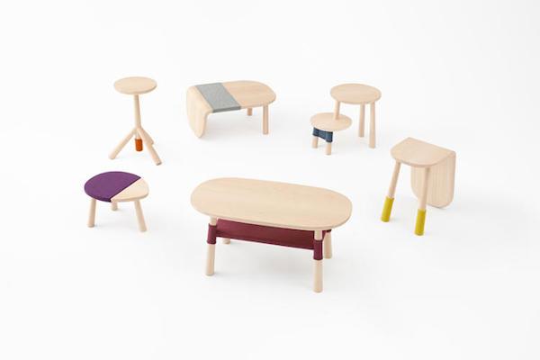 Mobilă minimalistă inspirată din seria Winnie The Pooh