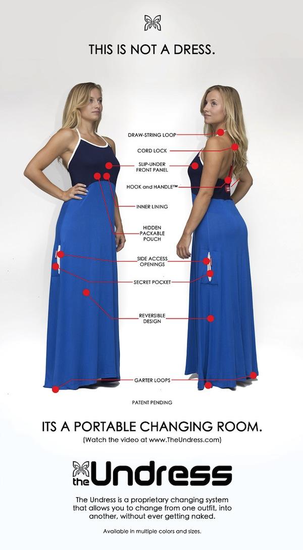 Rochia în care te poți schimba cu mai multă ușurință