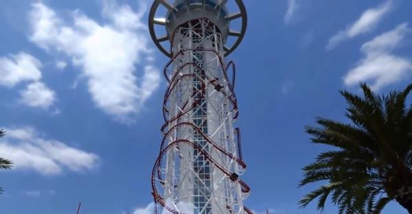 Cel mai înalt roller coaster din lume
