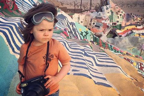 Fotograf la patru ani