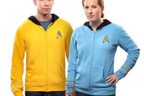 """Geacă sau uniformă """"Star Trek""""?"""