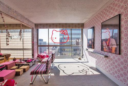 Hotelul Hello Kitty