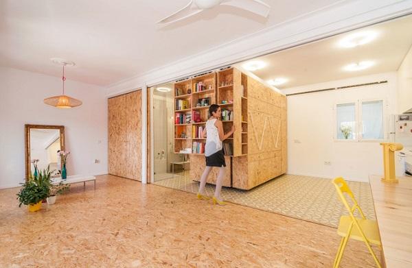 Apartamentul care se schimbă după cum vrei tu