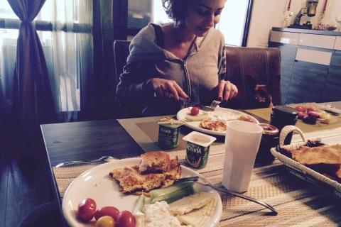 Foto mic-dejun cu Activia cu cereale