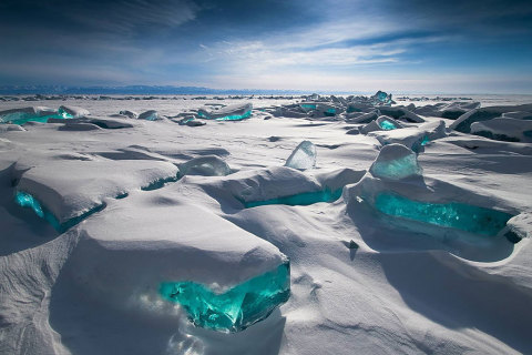 Frumusețea gheții