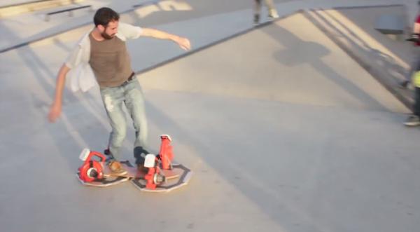Hoverboardul făcut în casă