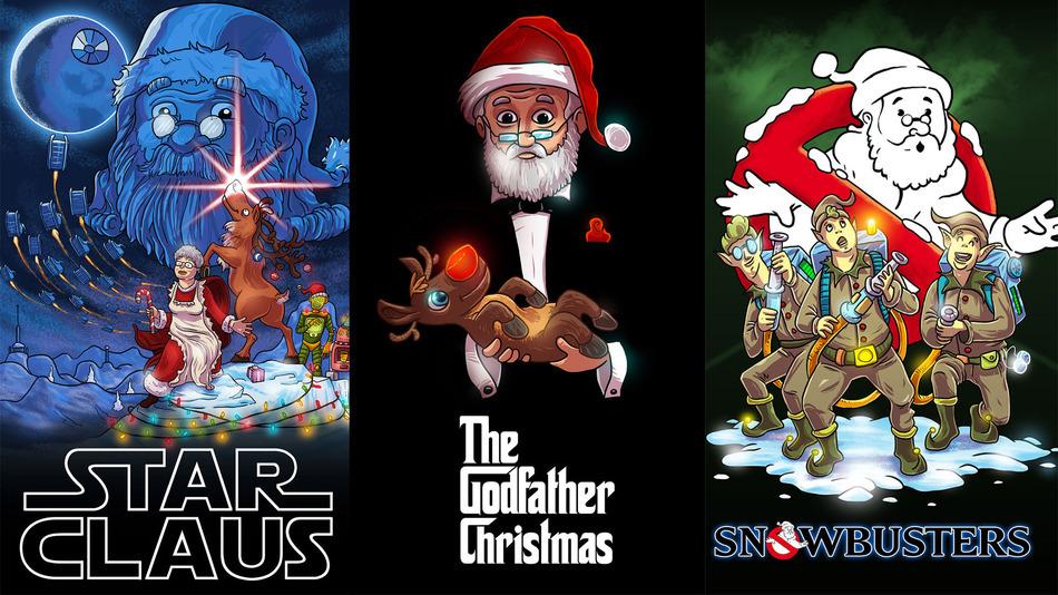 Moș Crăciun a ajuns la Hollywood
