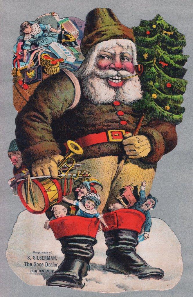 Die Cut Santa Loaded