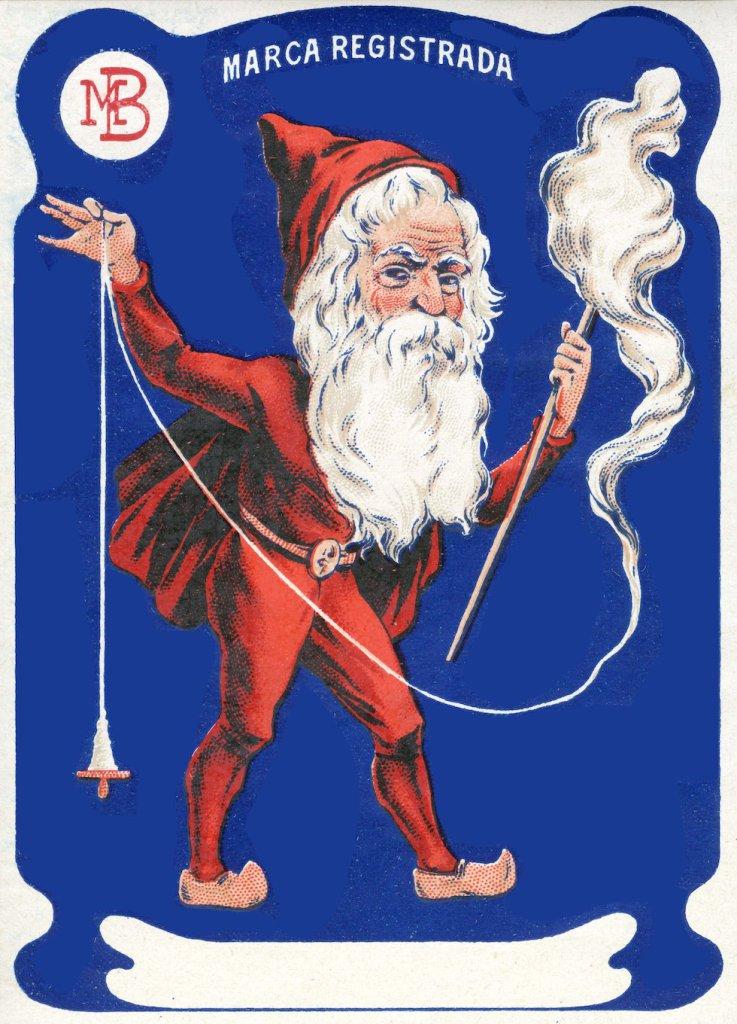 """'Father Christmas"""" Sews"""