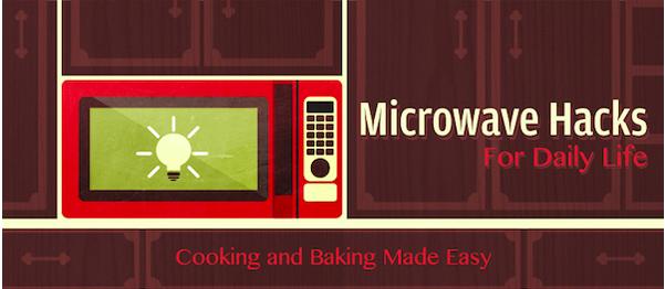 Trucuri în bucătărie cu cuptorul de microunde