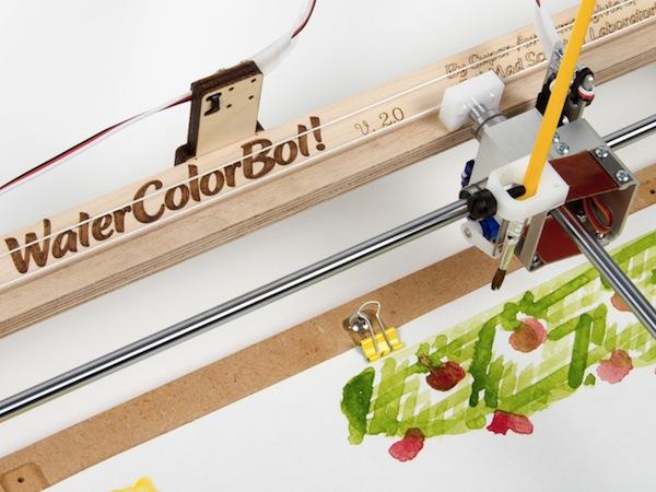 WaterColorBot, robotul care pictează pentru tine