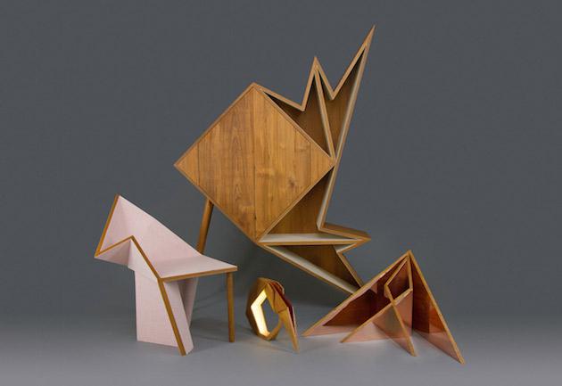 Origami-inspired-geometric-furniture-feel-desain-Aljoud-Lootah-2