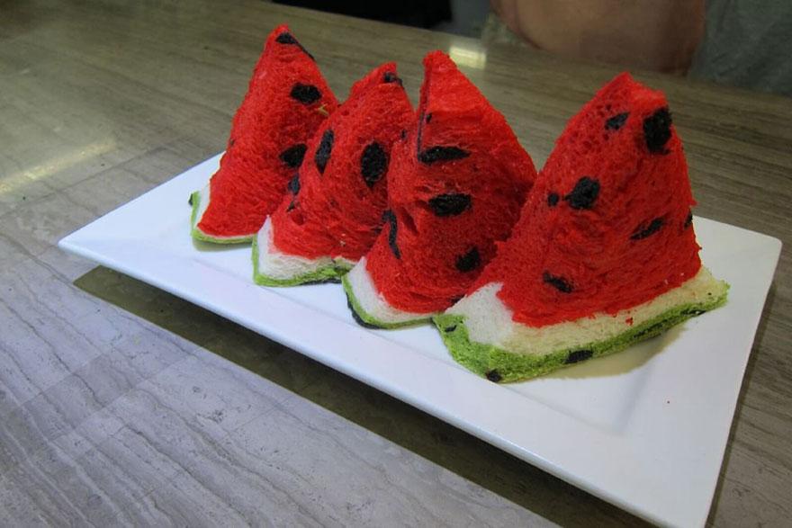 square-watermelon-bread-jimmys-bakery-taiwan-2