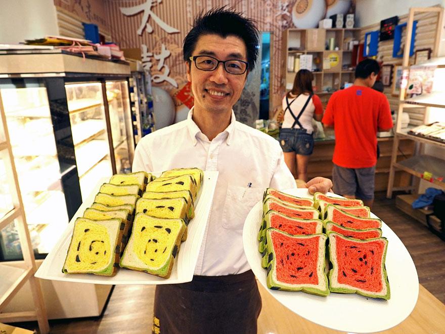 square-watermelon-bread-jimmys-bakery-taiwan-4