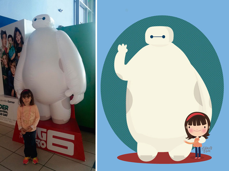 I-Take-Childrens-Photos-From-The-Internet-And-Turn-Them-Into-Playful-Illustrations-Part-217__880